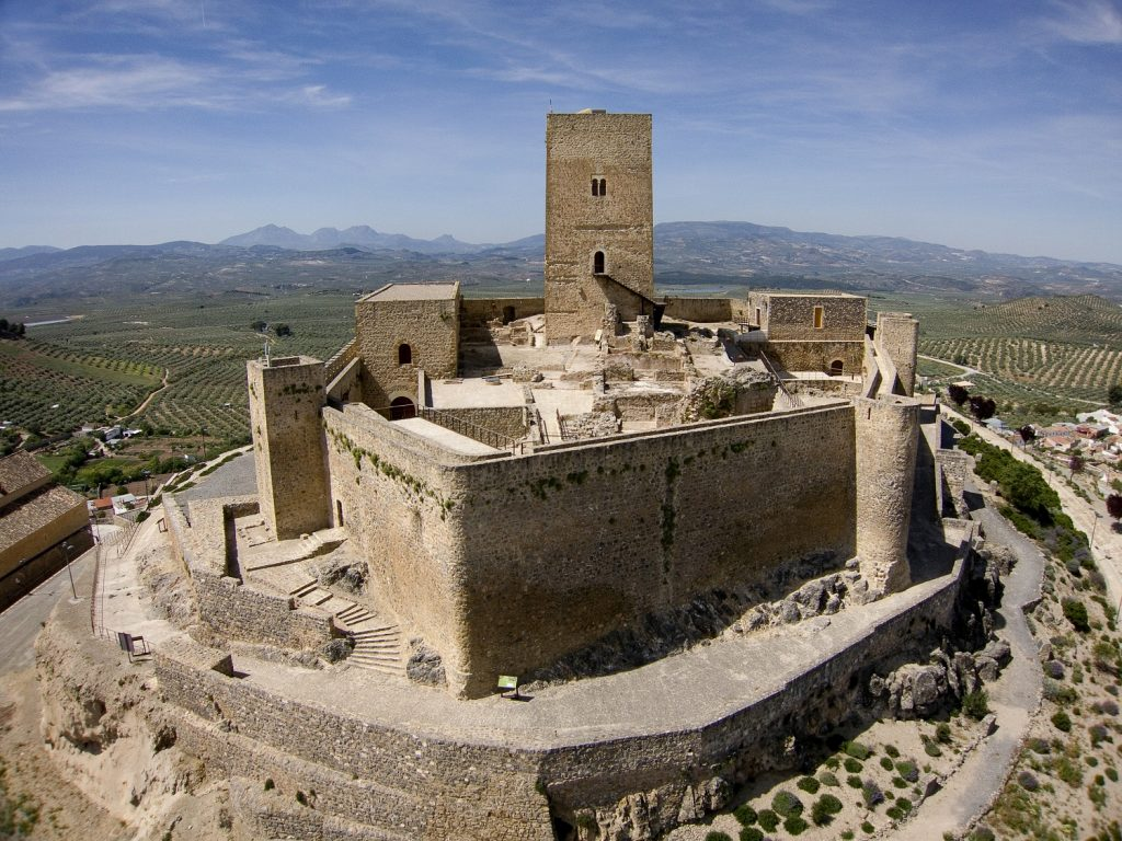 Castillo de Alcaudete juego