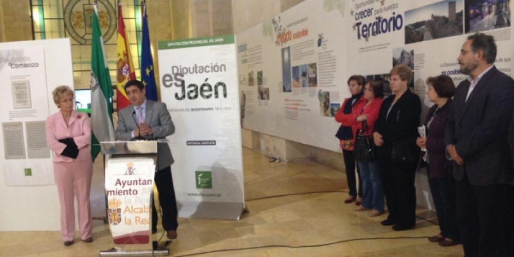 Inaugurada la exposición sobre el Bicentenario de la Diputación de Jaén