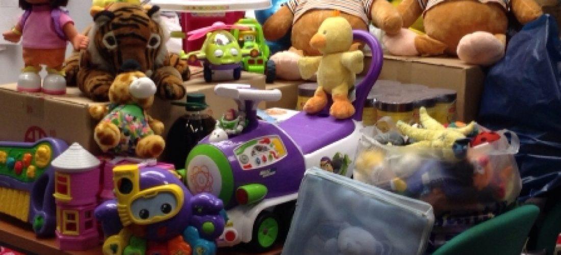 El Hospital de Alcalá y el resto de hospitales del Alto Guadalquivir recogen más de 5.000 kilos de alimentos, juguetes y ropa