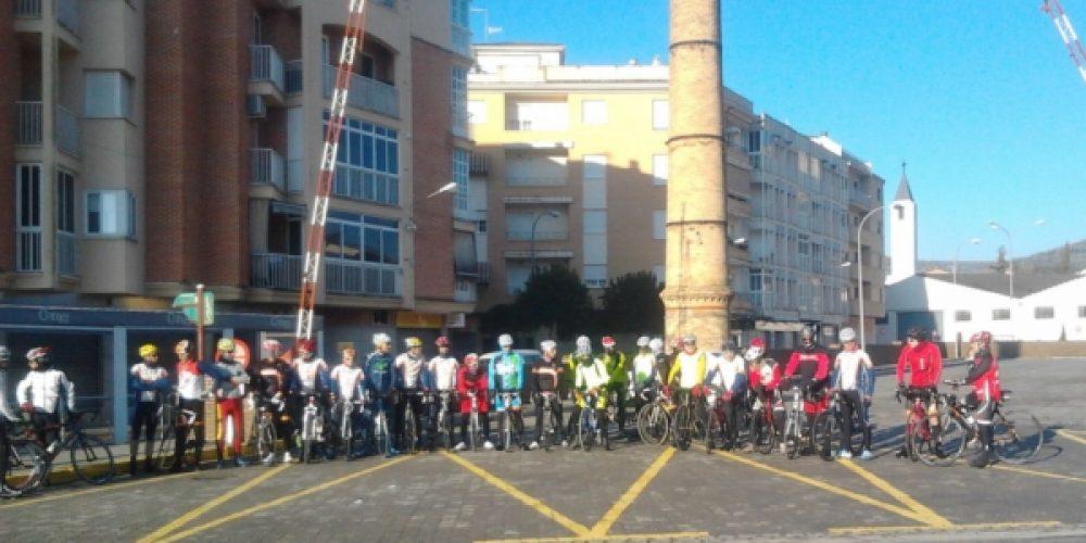 La peña ciclista realizó la II edición de la ruta de las tres provincias
