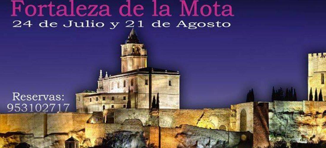 VISITA NOCTURNA A LA FORTALEZA DE LA MOTA