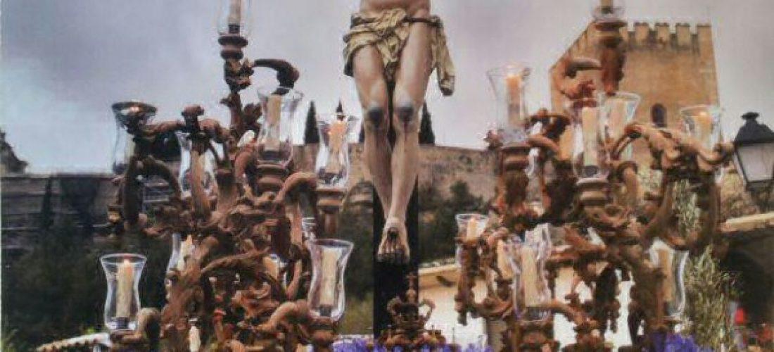 El Cristo de Eva Mª López cartel de la Semana Santa 2013