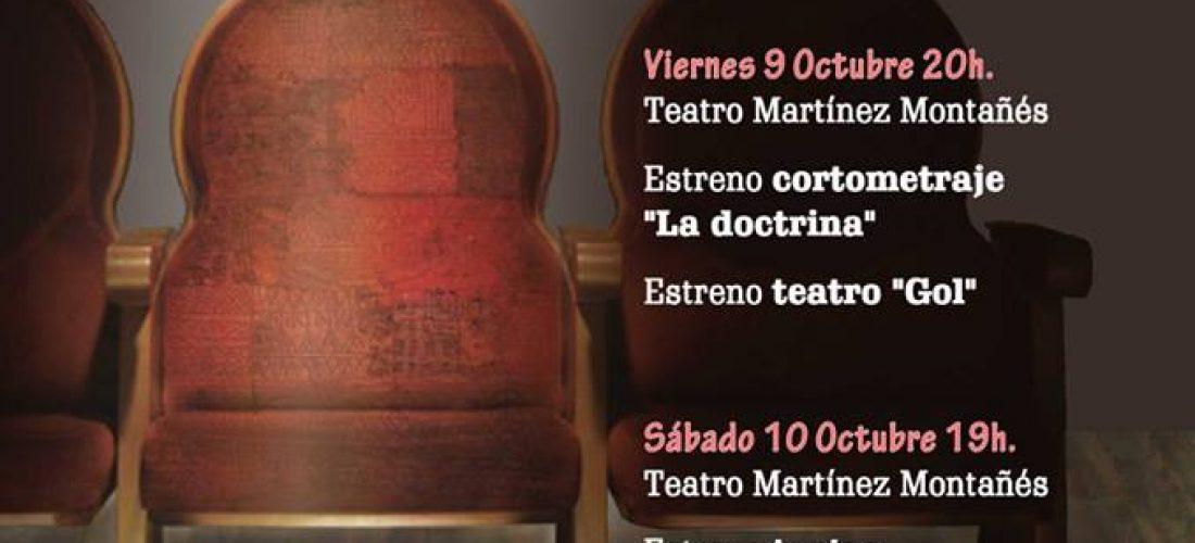 FIN DE SEMANA DE TEATRO 10 Y 11 DE OCTUBRE