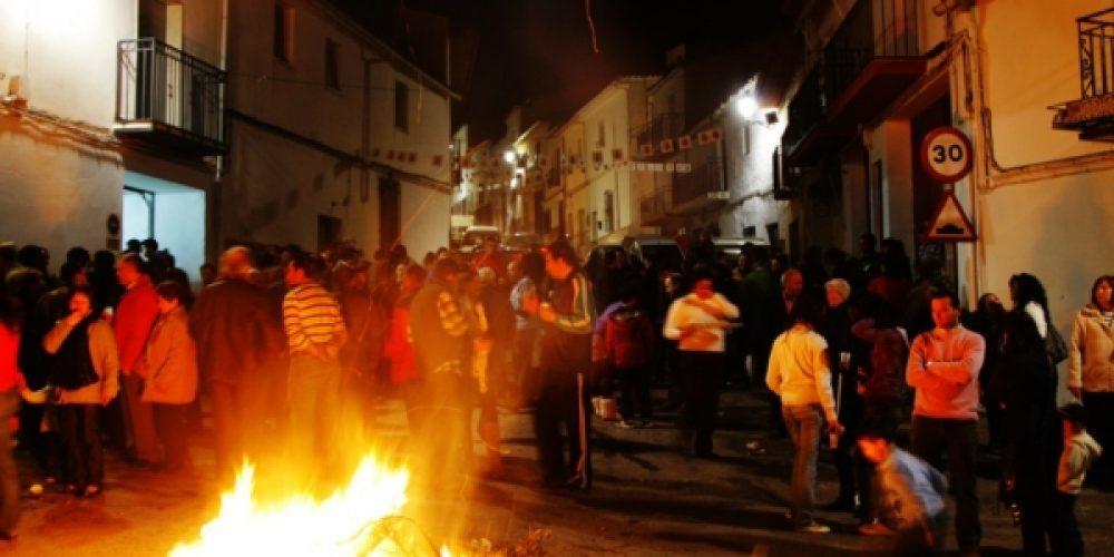 Esta noche lumbres y tambores celebrarán la víspera de San José