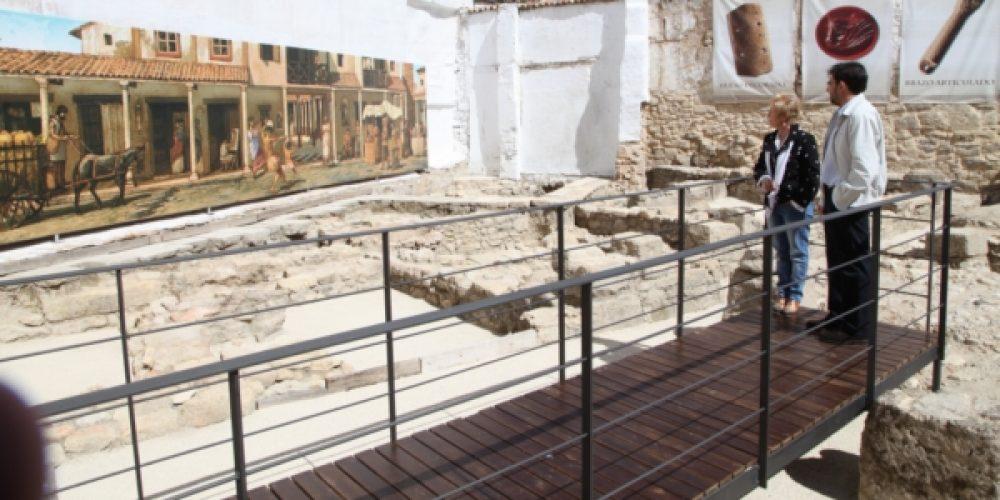 Abierto al público el yacimiento romano que se ha recuperado en la Tejuela