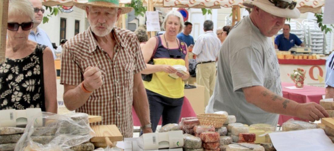 20 productores de queso se darán cita el 1 y 2 de junio en Alcalá la Real