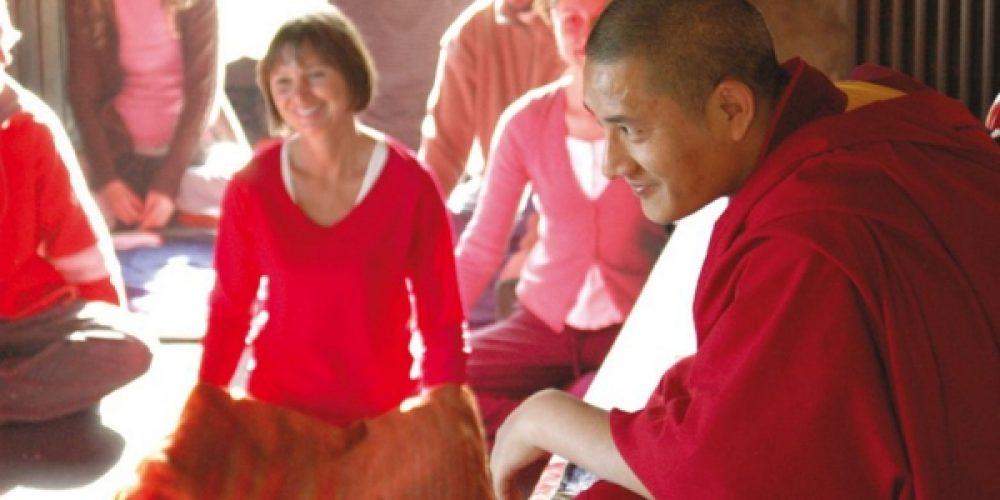 Conferencia en Alcalá la Real del maestro budista Tulku Lobsang