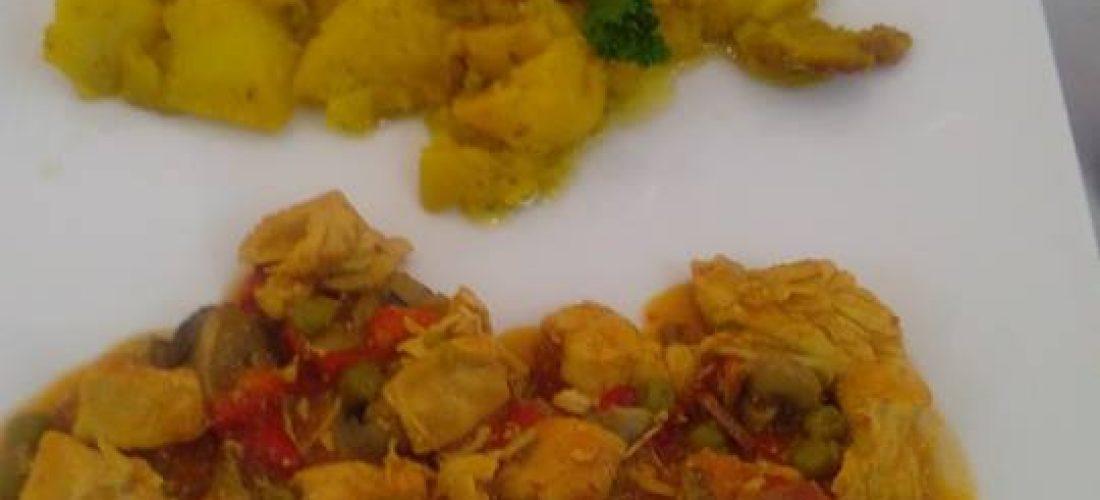 Gastronomía de Alcalá la Real, pollo a la secretaria.