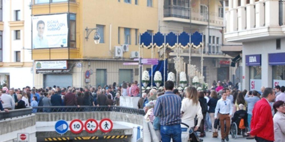 Un Domingo de Ramos perfecto abre la puerta a la Semana Santa alcalaína