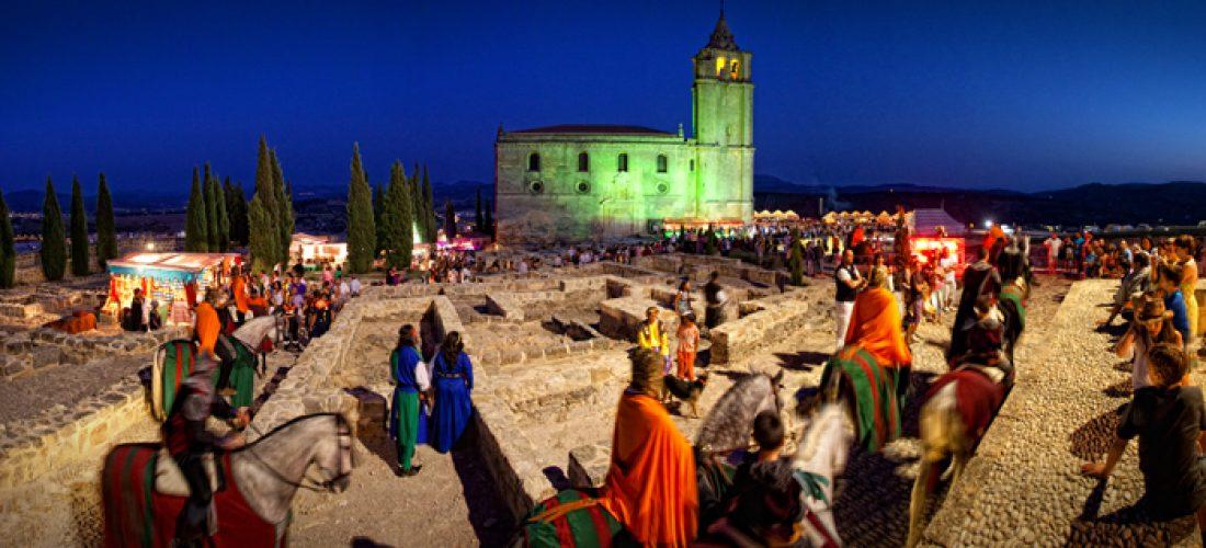 Fiestas medievales alcal la real hotel torrepalma Spa alcala la real