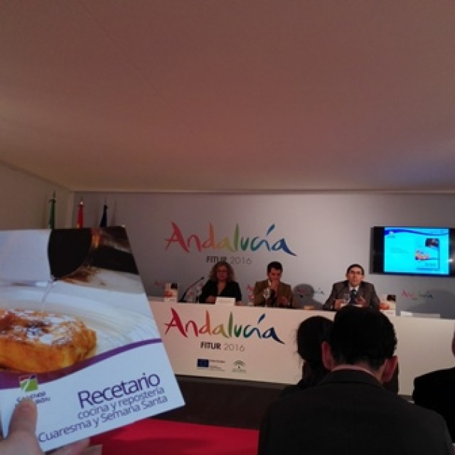 Caminos de Pasión potencia la gastronomía de Semana Santa y Cuaresma en Fitur