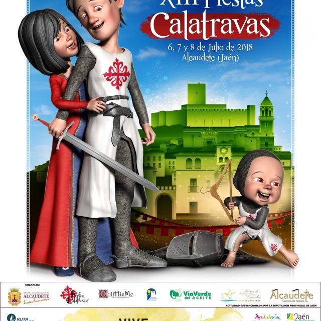 Fiestas Calatravas de Alcaudete 2018 Programa